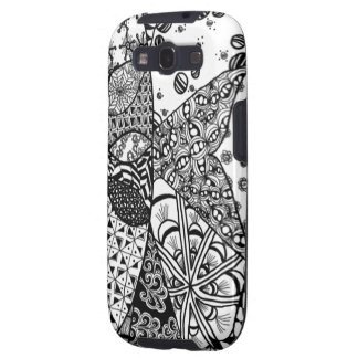 Sunrise Doodle Art Samsung Galaxy S Case Samsung Galaxy S3 Cases