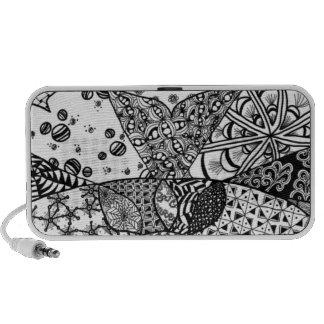 Sunrise Doodle Portable Speaker
