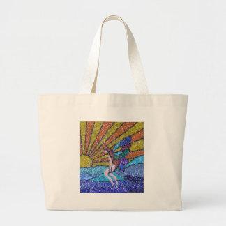 Sunrise Fairy Jumbo Tote Bag