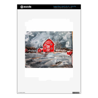 Sunrise Farm Skin For iPad 3