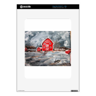 Sunrise Farm Decal For The iPad