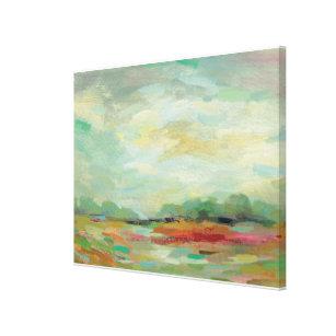 Sunrise Field Abstract Print | Silvia Vassileva