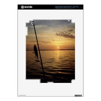 Sunrise Fishing Scene iPad 3 Skin