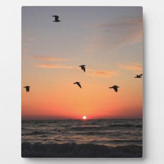 Sunrise Flight Photo Plaque