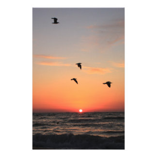 Sunrise Flight Stationery