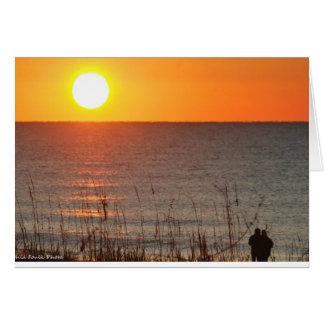 Sunrise @ Folly Beach, SC Card