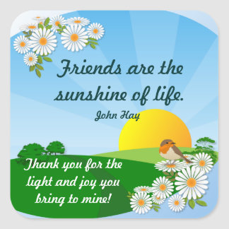 Sunrise  ~ Friendship Sticker