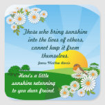 Sunrise  ~ Friendship Sticker # 2