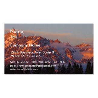 Sunrise From Colter Bay Double-Sided Standard Business Cards (Pack Of 100)
