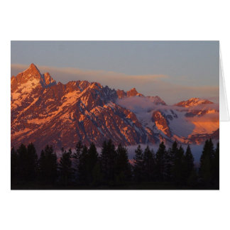 Sunrise From Colter Bay Greeting Card