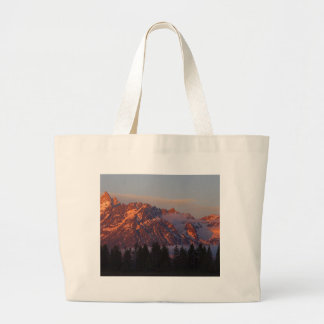 Sunrise From Colter Bay Jumbo Tote Bag