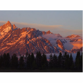 Sunrise From Colter Bay Photo Cut Out