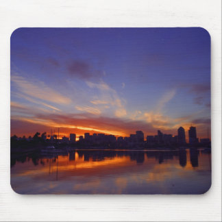 Sunrise From San Diego Bay Mouse Pad