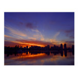 Sunrise From San Diego Bay Postcard