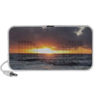 sunrise from Sandy Beach iPod Speaker
