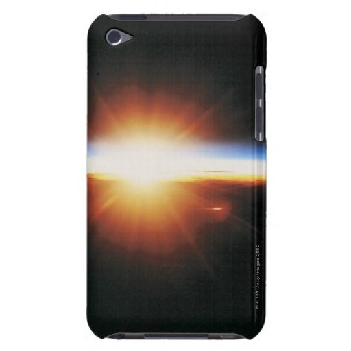 Sunrise from Space 2 iPod Touch Case
