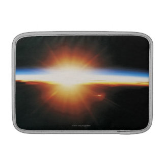 Sunrise from Space 2 Sleeve For MacBook Air