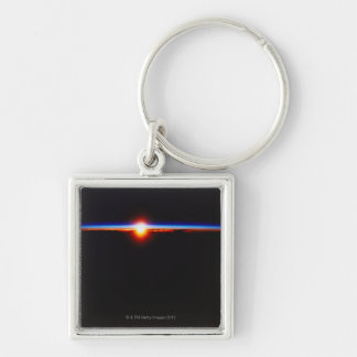Sunrise from Space 3 Keychains