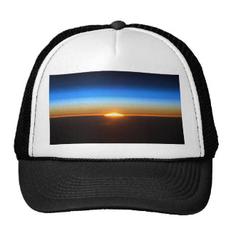 Sunrise From The International Space Station Trucker Hat