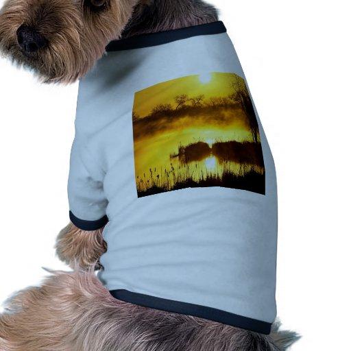 Sunrise Golden Colorado Doggie Tshirt