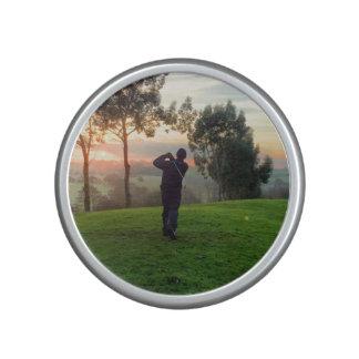 Sunrise Golfer Bluetooth Speaker
