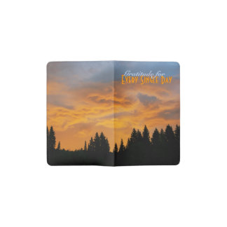 Sunrise Gratitude Pocket Moleskine Notebook