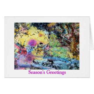 Sunrise Greetings Card