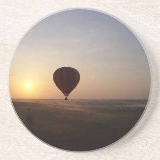 Sunrise Hot Air Balloon photographic image Coaster
