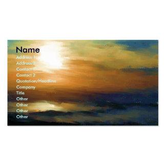Sunrise Impression Business Card Templates