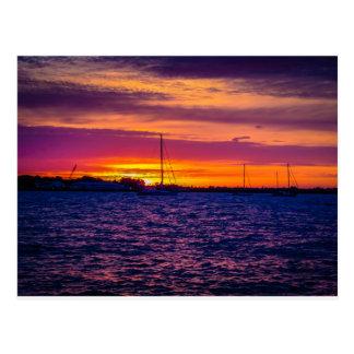 Sunrise in Annapolis, MD Postcard