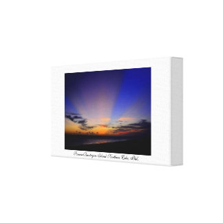 Sunrise in Cebu, Philippines Canvas Print