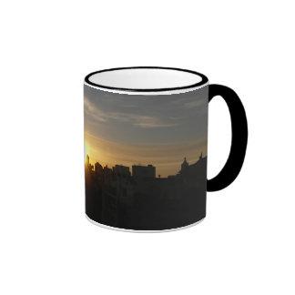 Sunrise in Chelsea Ringer Mug