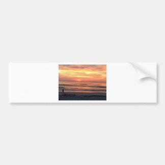 Sunrise in Daytona Beach, FL Bumper Sticker