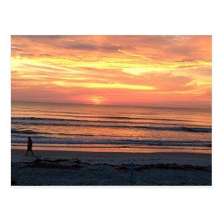 Sunrise in Daytona Beach, FL Postcard