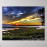 Sunrise in Delaware Poster