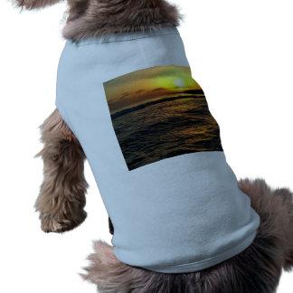 Sunrise in Greece Doggie T-shirt