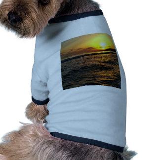 Sunrise in Greece Pet T Shirt
