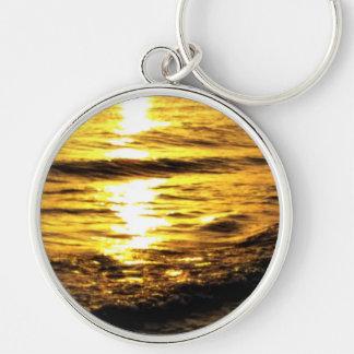 Sunrise in Greece Key Chain