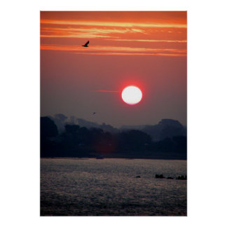 Sunrise in Guernsey Poster
