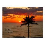 Sunrise in Jupiter Post Card