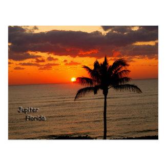Sunrise in Jupiter Postcard