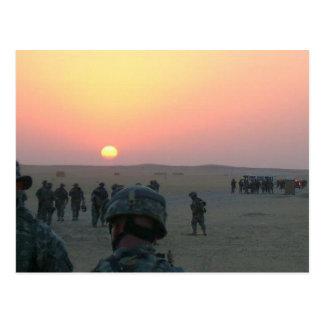 Sunrise in Kuwait Postcard