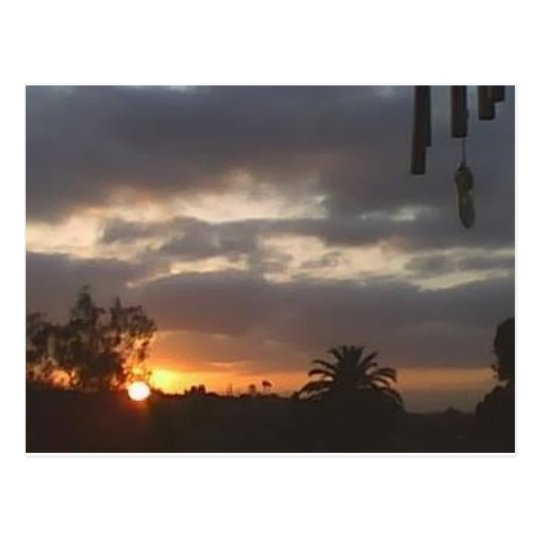 Sunrise in March Postcard
