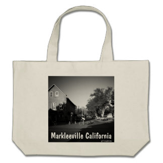 Sunrise in Markleeville Canvas Bags