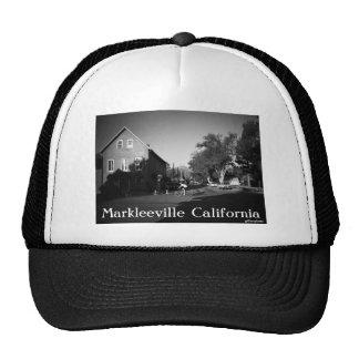 Sunrise in Markleeville Mesh Hats
