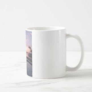 Sunrise in Miami Classic White Coffee Mug