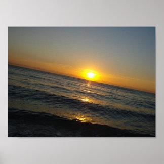 """""""Sunrise in Miami"""" Poster"""