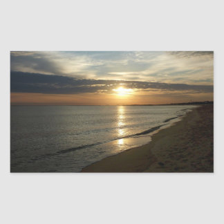 Sunrise in Norfolk VA Stickers