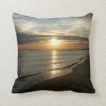 Sunrise in Norfolk VA Throw Pillow