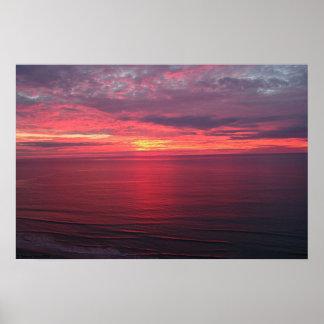 Sunrise in November Poster